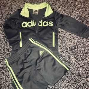 Matching Adidas Sweat suit
